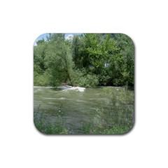 Boise River Gone Wild 2017 Rubber Coaster (Square)