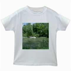 Boise River Gone Wild 2017 Kids White T-Shirts