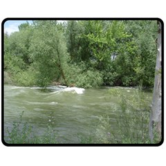 Boise River Gone Wild 2017 Fleece Blanket (Medium)