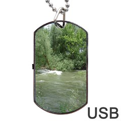 Boise River Gone Wild 2017 Dog Tag USB Flash (One Side)