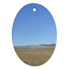 Bruneo Sand Dunes Ornament (Oval)