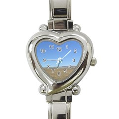 Bruneo Sand Dunes Heart Italian Charm Watch