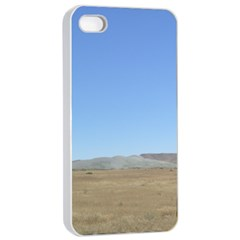 Bruneo Sand Dunes Apple iPhone 4/4s Seamless Case (White)