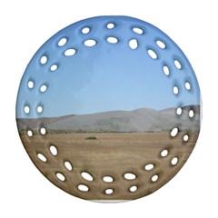 Bruneuo Sand Dunes 2 Ornament (Round Filigree)