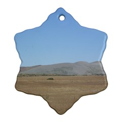 Bruneuo Sand Dunes 2 Snowflake Ornament (Two Sides)