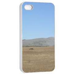 Bruneuo Sand Dunes 2 Apple iPhone 4/4s Seamless Case (White)