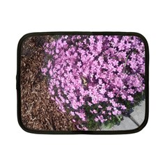 Butterfly On Purple Flowers Netbook Case (Small)