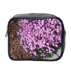 Butterfly On Purple Flowers Mini Toiletries Bag 2-Side