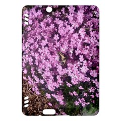 Butterfly On Purple Flowers Kindle Fire HDX Hardshell Case