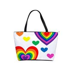Pride Hearts Bg Shoulder Handbags