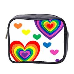 Pride Hearts Bg Mini Toiletries Bag 2-Side