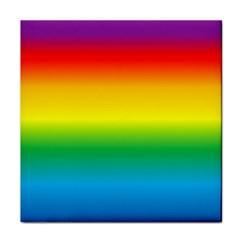 Rainbow Tile Coasters