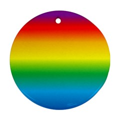 Rainbow Ornament (Round)
