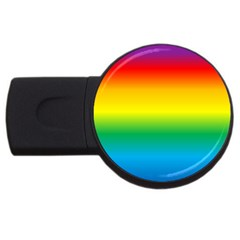 Rainbow USB Flash Drive Round (2 GB)