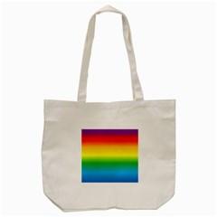 Rainbow Tote Bag (Cream)