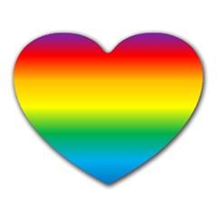 Rainbow Heart Mousepads
