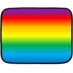 Rainbow Fleece Blanket (Mini)