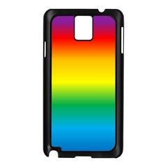 Rainbow Samsung Galaxy Note 3 N9005 Case (Black)