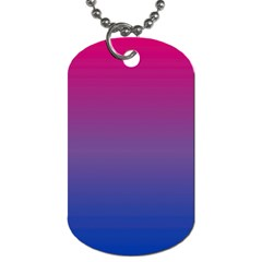 Bi Colors Dog Tag (Two Sides)
