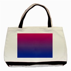 Bi Colors Basic Tote Bag (Two Sides)