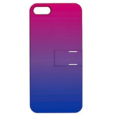 Bi Colors Apple iPhone 5 Hardshell Case with Stand