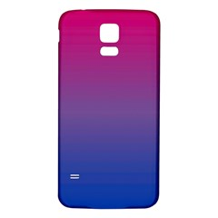 Bi Colors Samsung Galaxy S5 Back Case (White)