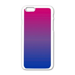 Bi Colors Apple iPhone 6/6S White Enamel Case