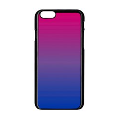 Bi Colors Apple iPhone 6/6S Black Enamel Case