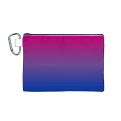 Bi Colors Canvas Cosmetic Bag (M)