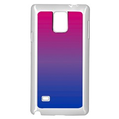 Bi Colors Samsung Galaxy Note 4 Case (White)