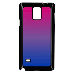 Bi Colors Samsung Galaxy Note 4 Case (Black)