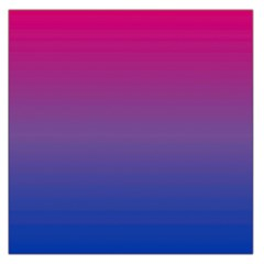 Bi Colors Large Satin Scarf (Square)
