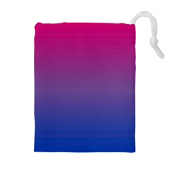 Bi Colors Drawstring Pouches (Extra Large)