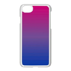 Bi Colors Apple iPhone 7 Seamless Case (White)