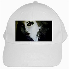 Goth Bride White Cap