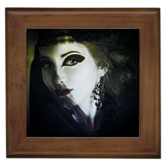 Goth Bride Framed Tiles