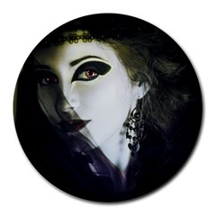 Goth Bride Round Mousepads