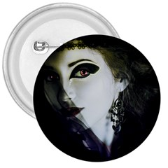 Goth Bride 3  Buttons