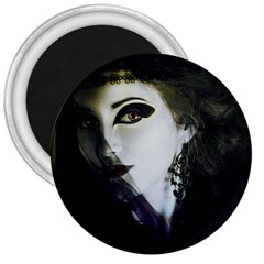Goth Bride 3  Magnets