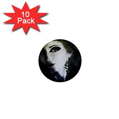 Goth Bride 1  Mini Buttons (10 pack)