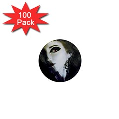 Goth Bride 1  Mini Magnets (100 pack)