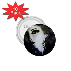 Goth Bride 1.75  Buttons (10 pack)