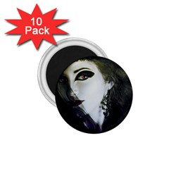 Goth Bride 1.75  Magnets (10 pack)