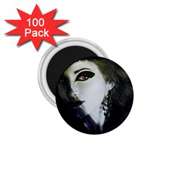 Goth Bride 1.75  Magnets (100 pack)