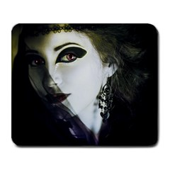 Goth Bride Large Mousepads