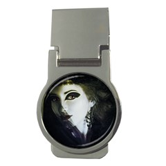 Goth Bride Money Clips (Round)