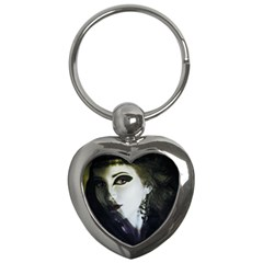 Goth Bride Key Chains (Heart)