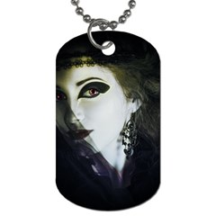 Goth Bride Dog Tag (One Side)