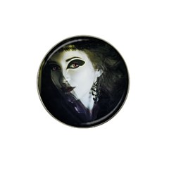Goth Bride Hat Clip Ball Marker