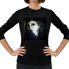 Goth Bride Women s Long Sleeve Dark T-Shirts